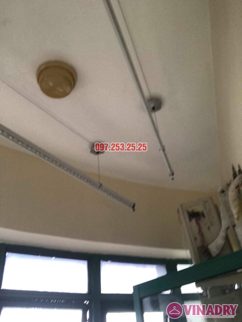 Lắp giàn phơi Ba Đình Hà Nội nhà chị Minh, 673 Hoàng Hoa Thám - 03
