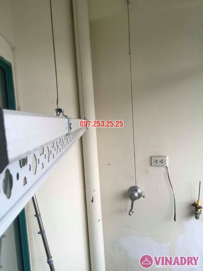 Lắp giàn phơi Ba Đình Hà Nội nhà chị Minh, 673 Hoàng Hoa Thám - 04