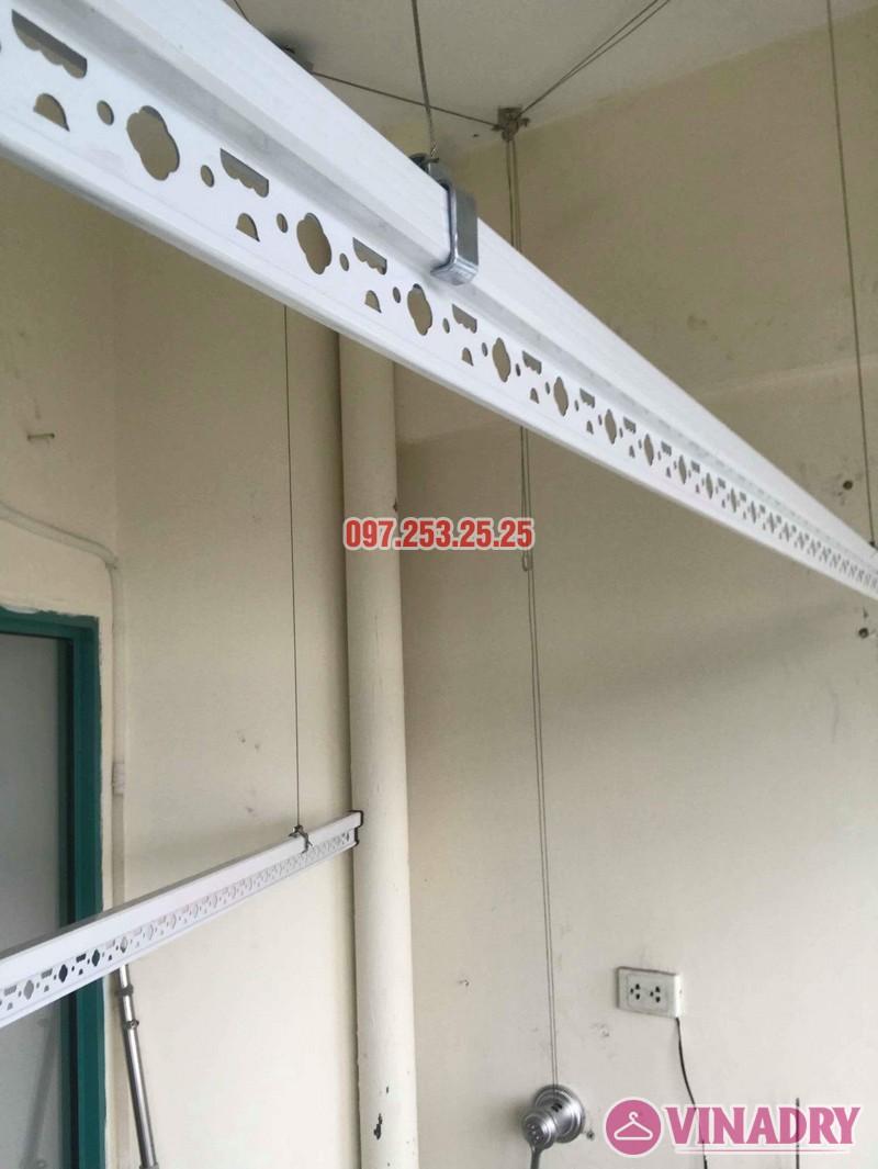 Lắp giàn phơi Ba Đình Hà Nội nhà chị Minh, 673 Hoàng Hoa Thám - 06