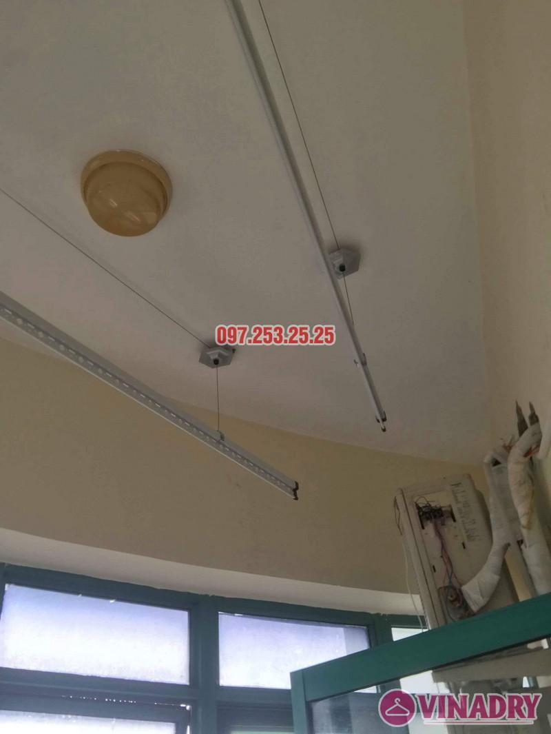 Lắp giàn phơi Ba Đình Hà Nội nhà chị Minh, 673 Hoàng Hoa Thám - 07