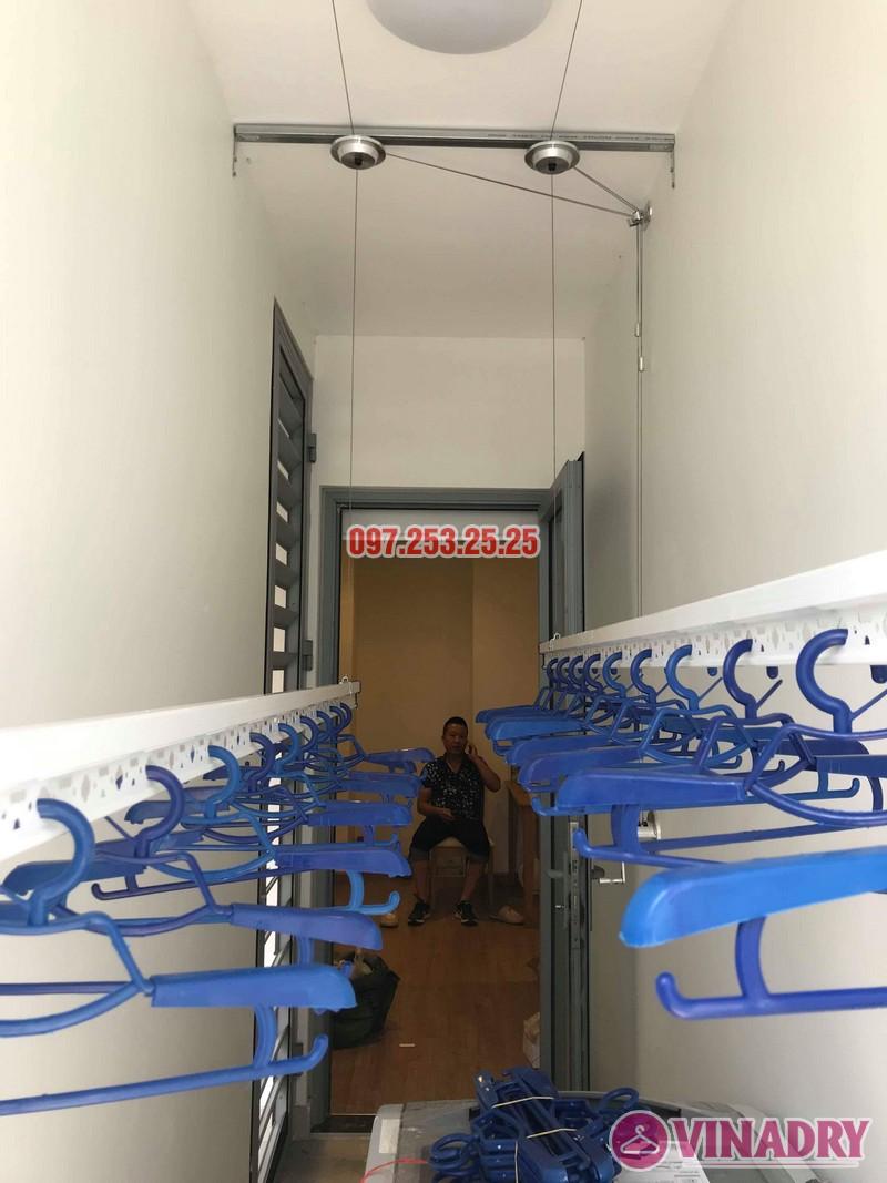 Lắp giàn phơi thông minh Park Hill Times City nhà anh Chiến, Tòa Park 10 - 06
