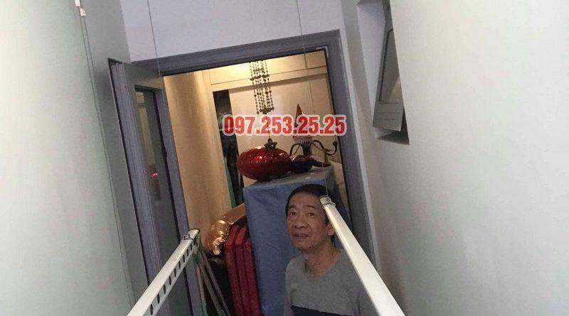 Sửa giàn phơi thông minh giá rẻ tại Hà Nội nhà anh Tiến, Park Hill Times City - 04