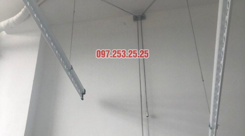 Sửa giàn phơi quần áo tại Nam Từ Liêm nhà anh Mạnh, tòa A3 Vinhome Gardenia _04