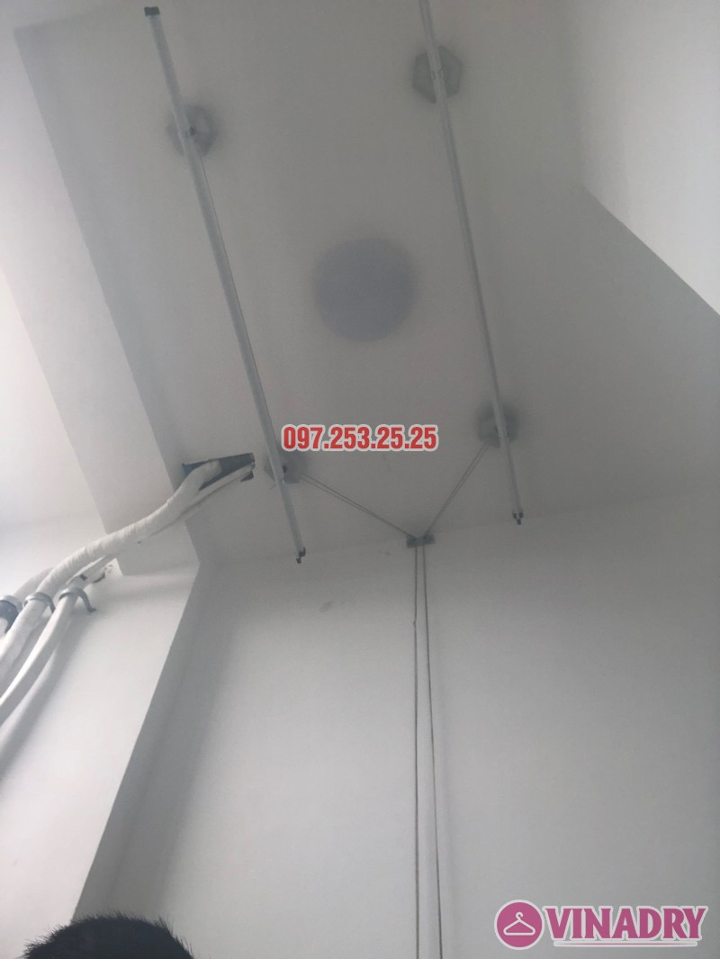 Sửa giàn phơi quần áo tại Nam Từ Liêm nhà anh Mạnh, tòa A3 Vinhome Gardenia _07