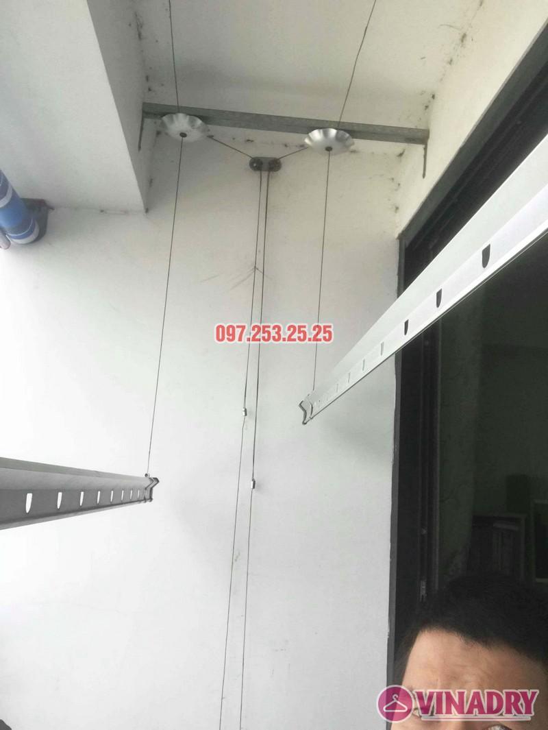 Sửa giàn phơi thông minh tại Times City nhà chị Bích, Tòa T11 - 04