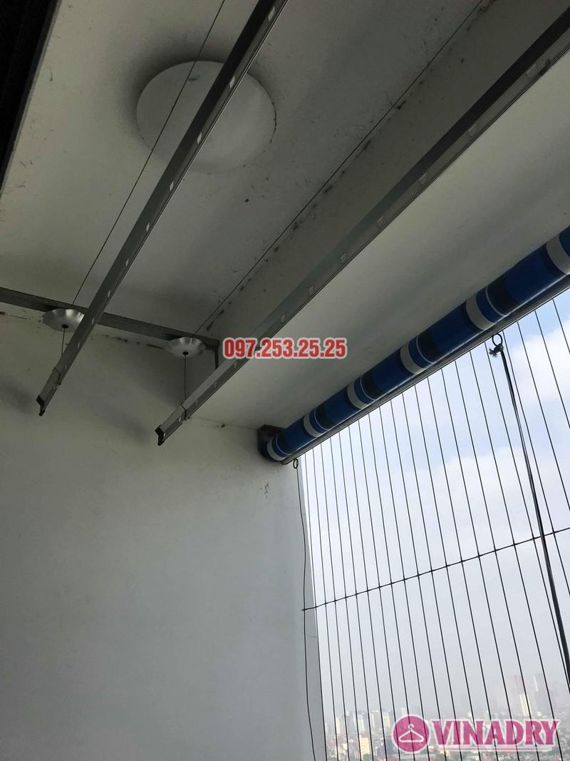 Sửa giàn phơi thông minh tại Times City nhà chị Bích, Tòa T11 - 07