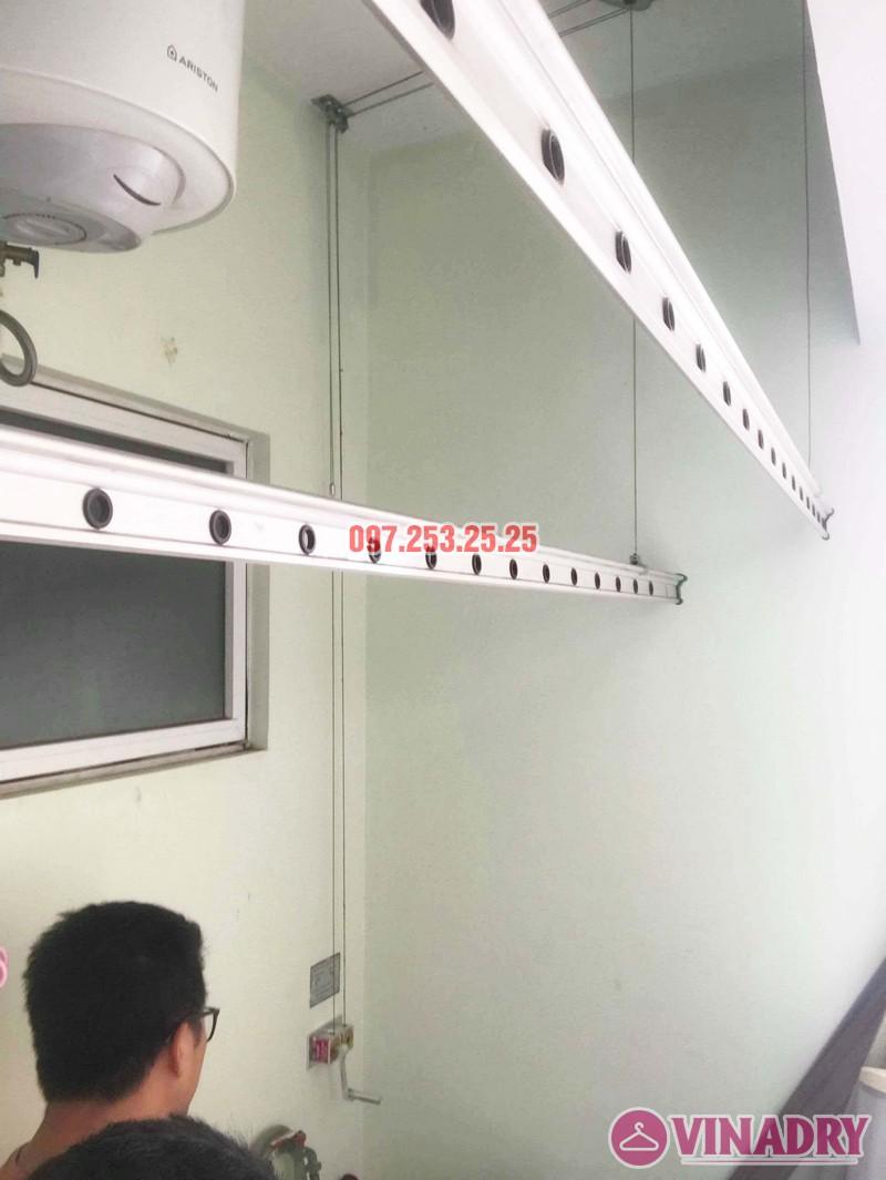 Sửa giàn phơi giá rẻ tại Tây Hồ nhà anh Đạt, tòa E2 chung cư Ciputra - 01