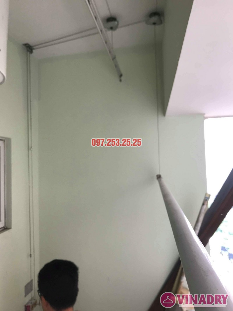Sửa giàn phơi giá rẻ tại Tây Hồ nhà anh Đạt, tòa E2 chung cư Ciputra - 06