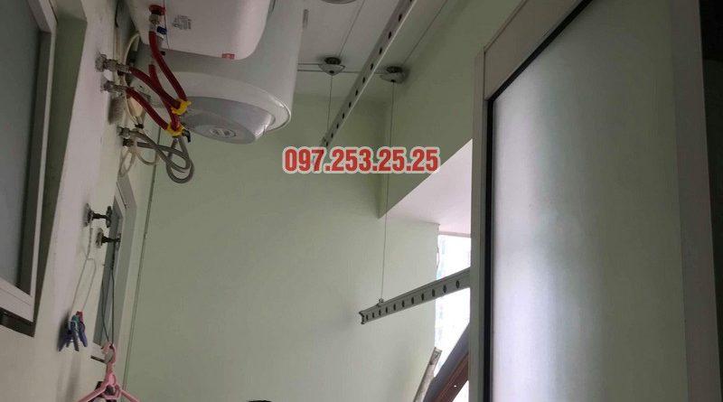 Sửa giàn phơi giá rẻ tại Tây Hồ nhà anh Đạt, tòa E2 chung cư Ciputra - 08