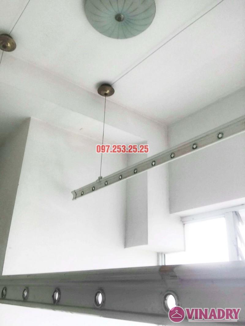 Sửa giàn phơi giá rẻ tại Hà Nội nhà anh Ba, chung cư Vườn Đào, 689 Lạc Long Quân - 04