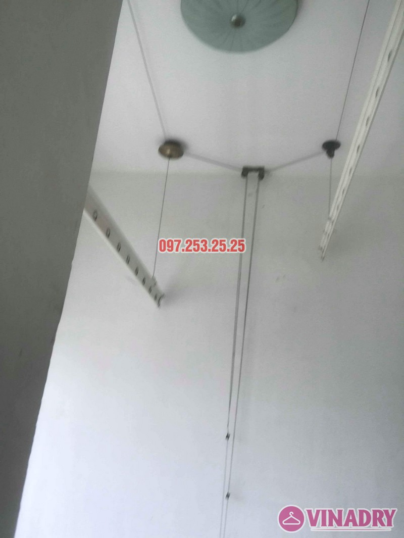 Sửa giàn phơi giá rẻ tại Hà Nội nhà anh Ba, chung cư Vườn Đào, 689 Lạc Long Quân - 06