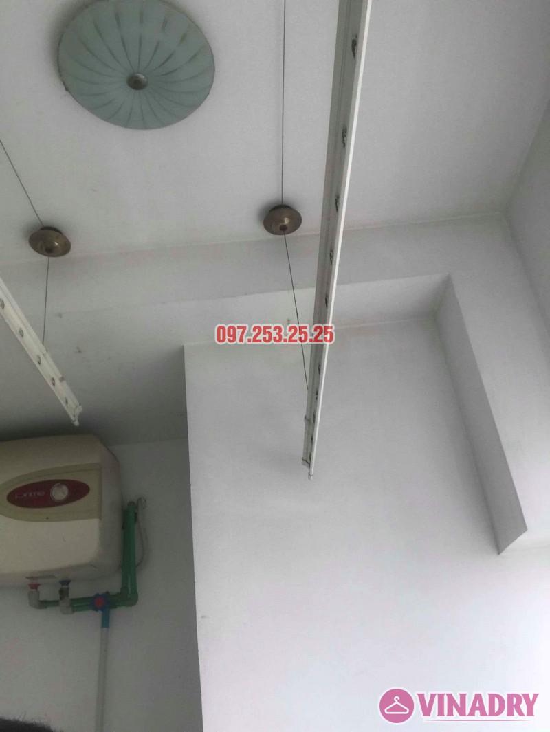 Sửa giàn phơi giá rẻ tại Hà Nội nhà anh Ba, chung cư Vườn Đào, 689 Lạc Long Quân - 07