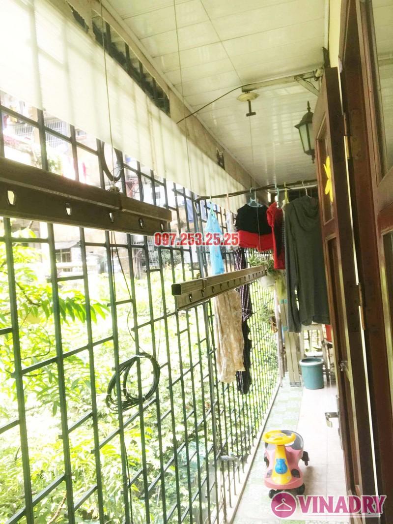 Sửa giàn phơi tại Hai Bà Trưng nhà cô Nụ, nhà tập thể ĐH Kinh Tế Quốc Dân - 02