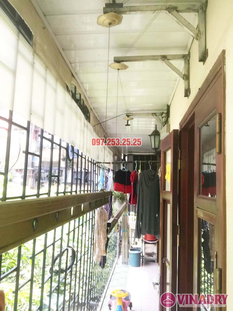 Sửa giàn phơi tại Hai Bà Trưng nhà cô Nụ, nhà tập thể ĐH Kinh Tế Quốc Dân - 03