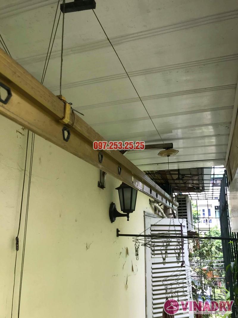Sửa giàn phơi tại Hai Bà Trưng nhà cô Nụ, nhà tập thể ĐH Kinh Tế Quốc Dân - 05