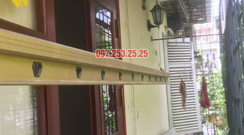 Sửa giàn phơi tại Hai Bà Trưng nhà cô Nụ, nhà tập thể ĐH Kinh Tế Quốc Dân - 06
