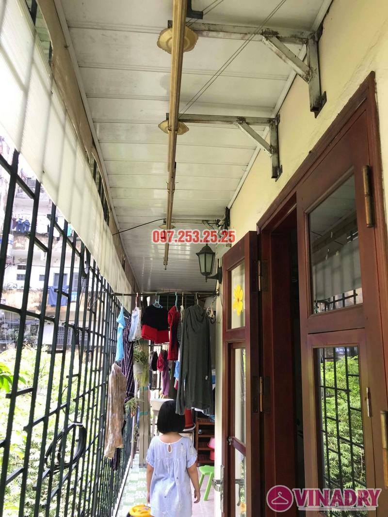 Sửa giàn phơi tại Hai Bà Trưng nhà cô Nụ, nhà tập thể ĐH Kinh Tế Quốc Dân - 08