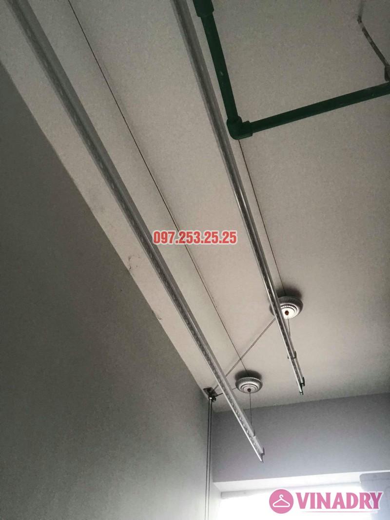 Lắp giàn phơi quần áo tại Hoàng Mai nhà chị Hảo, chung cư S12A, KĐT Gamuda Garden - 02