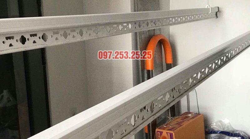 Lắp giàn phơi quần áo tại Hoàng Mai nhà chị Hảo, chung cư S12A, KĐT Gamuda Garden - 06