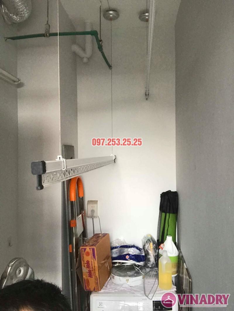 Lắp giàn phơi quần áo tại Hoàng Mai nhà chị Hảo, chung cư S12A, KĐT Gamuda Garden - 07
