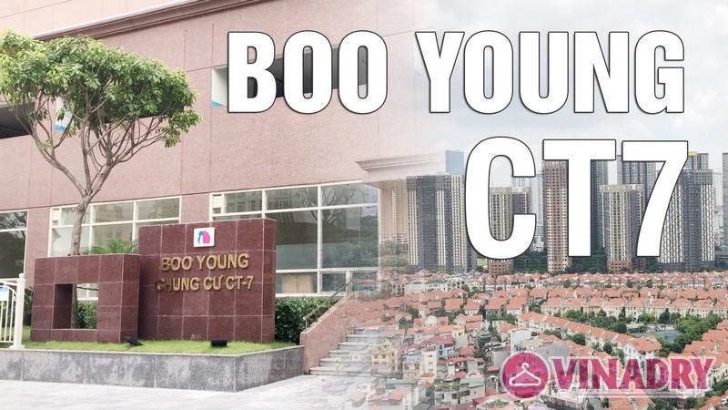 Phối cảnh chung cư quốc tế Boo Young