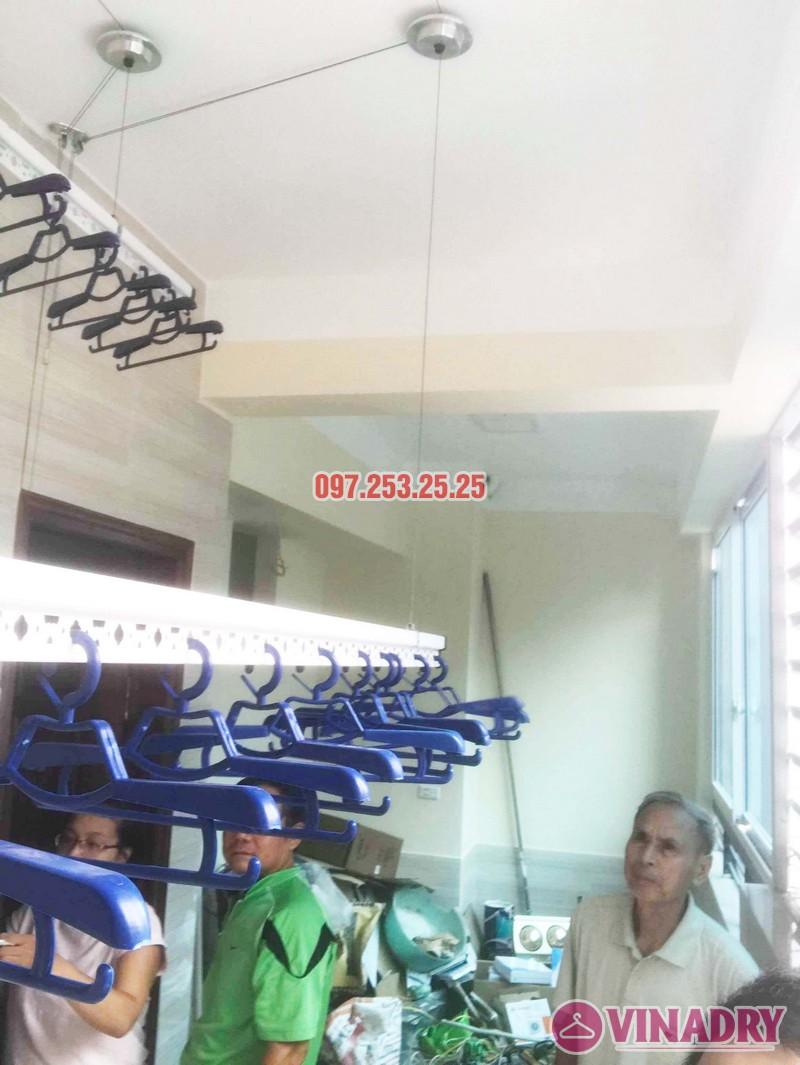 Giàn phơi Hòa Phát Air HP701 lắp tại nhà anh Hoàn, chung cư Học viện Hậu Cần - 04