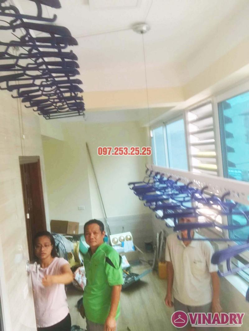 Giàn phơi Hòa Phát Air HP701 lắp tại nhà anh Hoàn, chung cư Học viện Hậu Cần - 07
