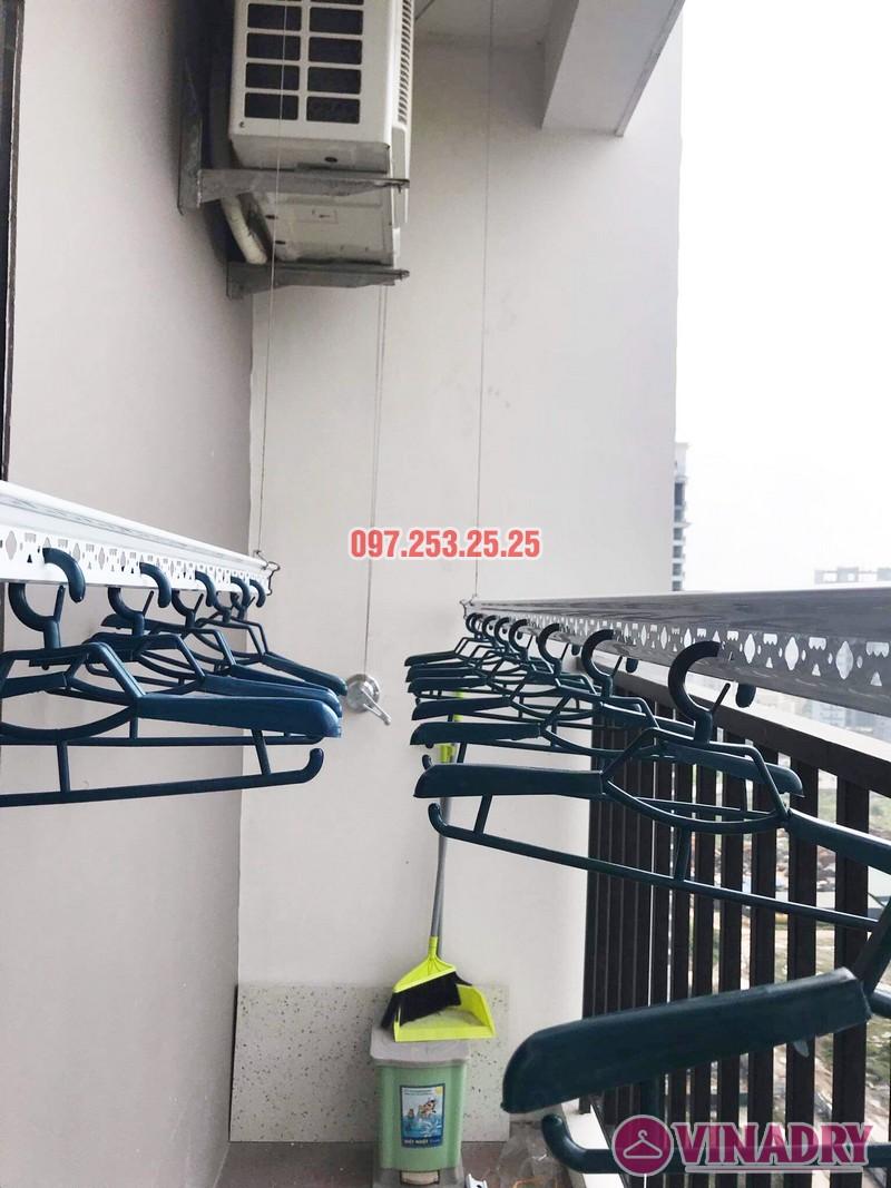 Lắp giàn phơi cho ban công nhỏ hẹp nhà chị Thắm, chung cư Lạc Hồng Westlake - 01
