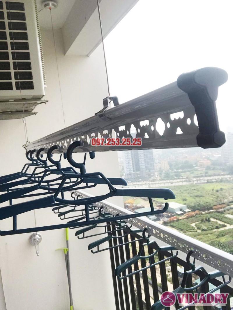 Lắp giàn phơi cho ban công nhỏ hẹp nhà chị Thắm, chung cư Lạc Hồng Westlake - 04