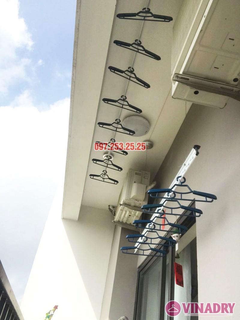 Lắp giàn phơi cho ban công nhỏ hẹp nhà chị Thắm, chung cư Lạc Hồng Westlake - 05