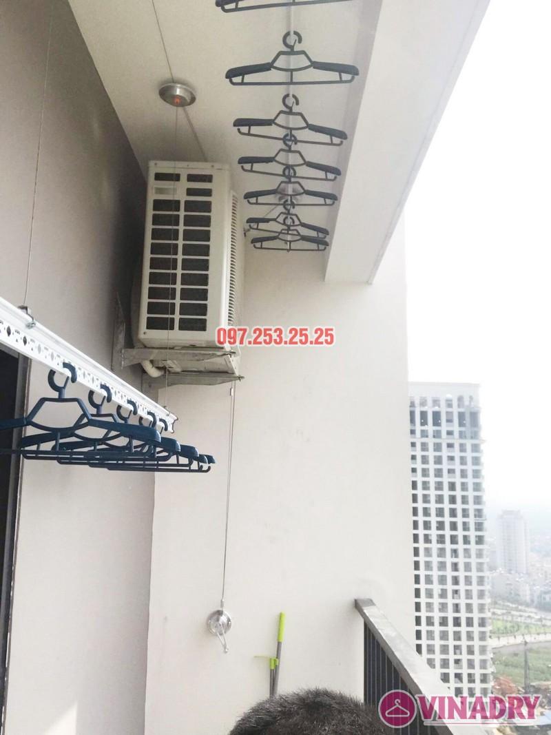 Lắp giàn phơi cho ban công nhỏ hẹp nhà chị Thắm, chung cư Lạc Hồng Westlake - 06