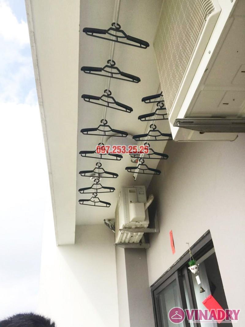 Lắp giàn phơi cho ban công nhỏ hẹp nhà chị Thắm, chung cư Lạc Hồng Westlake - 07