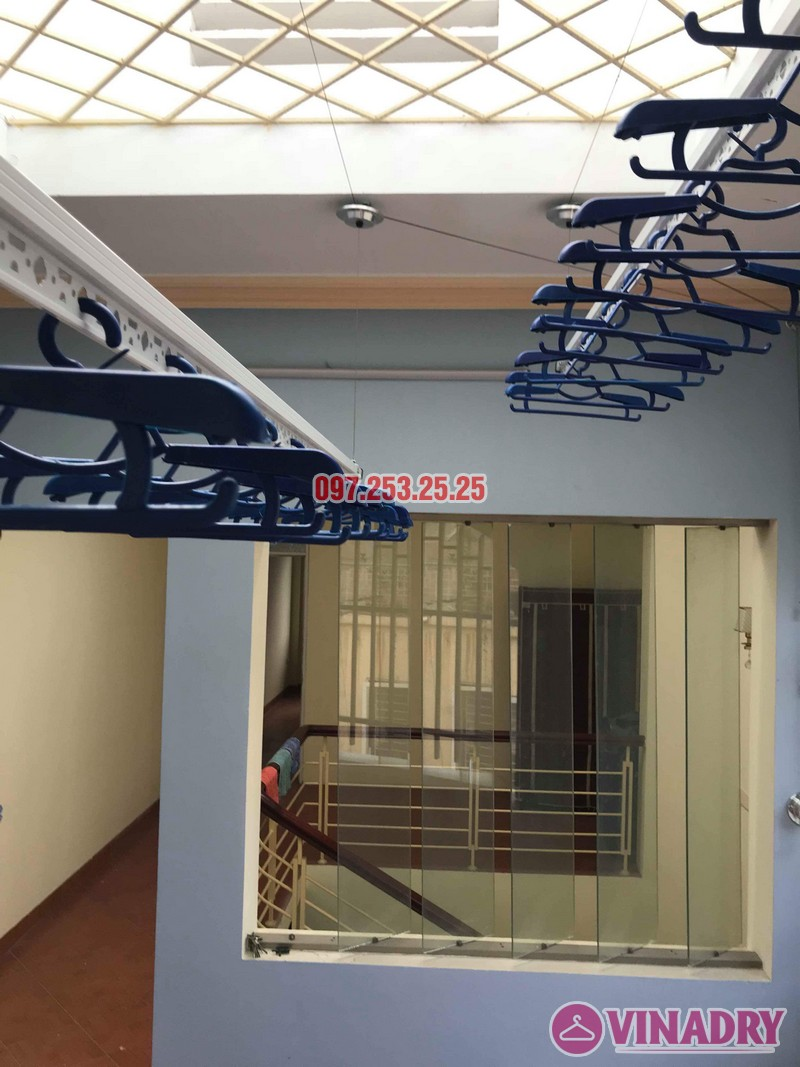 Lắp giàn phơi quần áo giá rẻ nhà anh Đàn, 36 Đại Đồng, Hoàng Mai, Hà Nội - 03