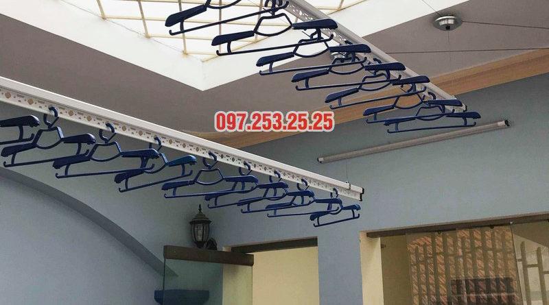 Lắp giàn phơi quần áo giá rẻ nhà anh Đàn, 36 Đại Đồng, Hoàng Mai, Hà Nội - 04