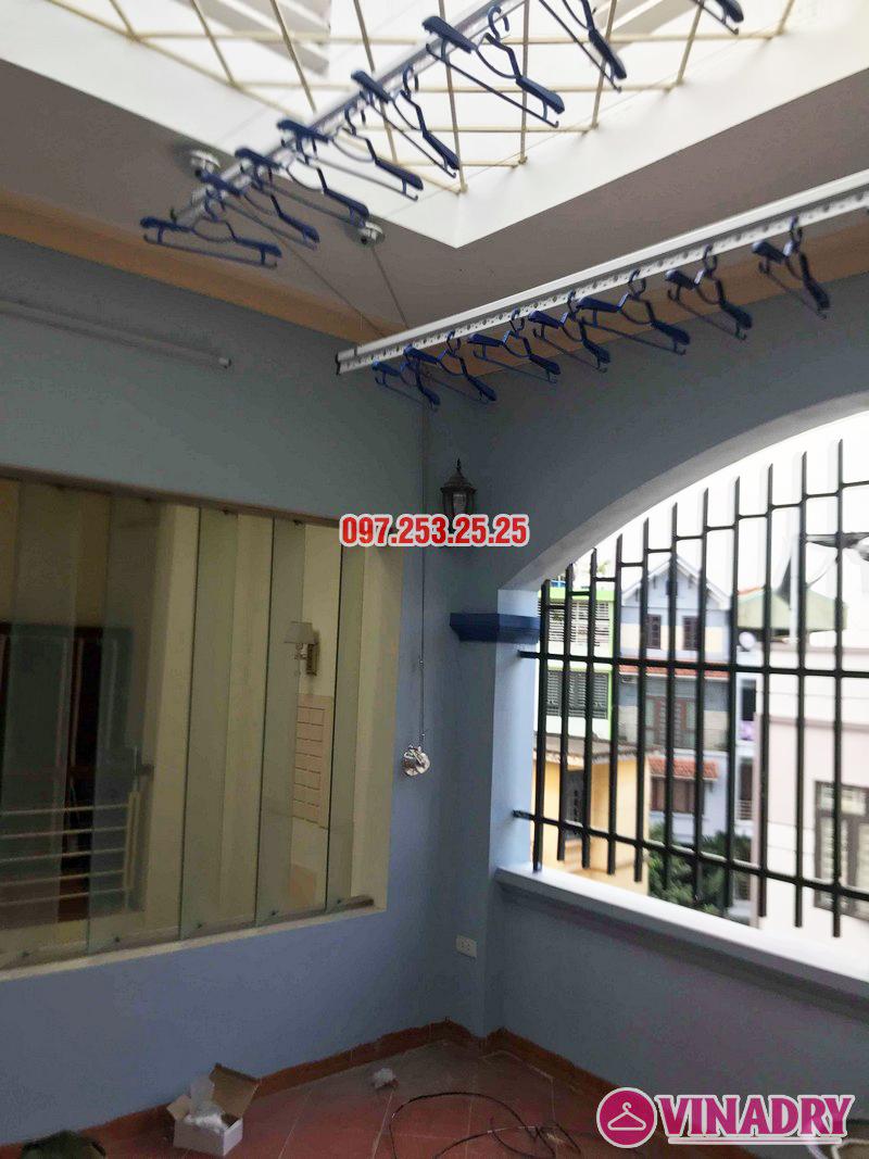 Lắp giàn phơi quần áo giá rẻ nhà anh Đàn, 36 Đại Đồng, Hoàng Mai, Hà Nội - 08