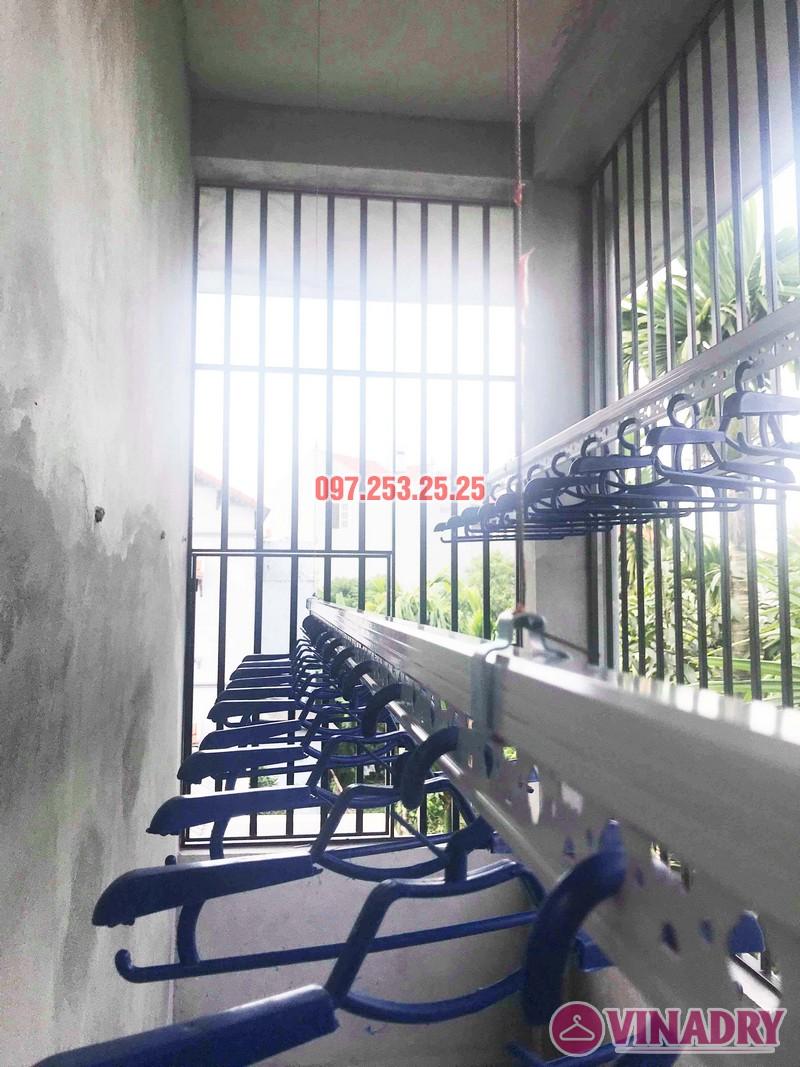 Lắp giàn phơi thông minh Hòa Phát nhà anh Tiến, xã Đa Tốn, Gia Lâm, Hà Nội - 07