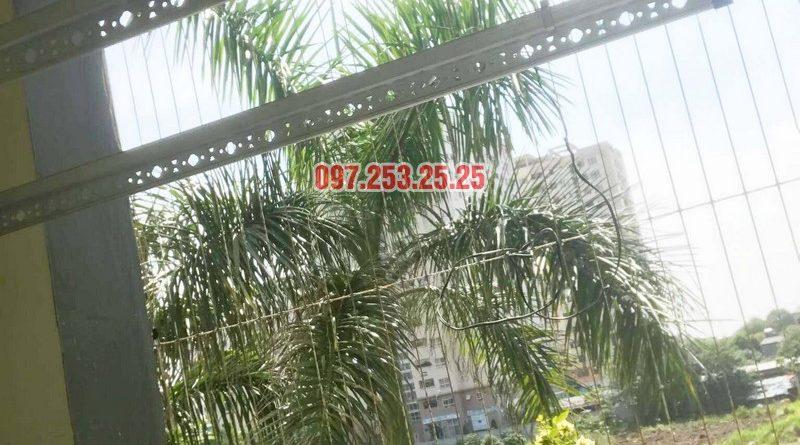 Lắp giàn phơi Hòa Phát 999B nhà anh Minh, Tòa nhà HH2 Gia Thụy, Long Biên - 03