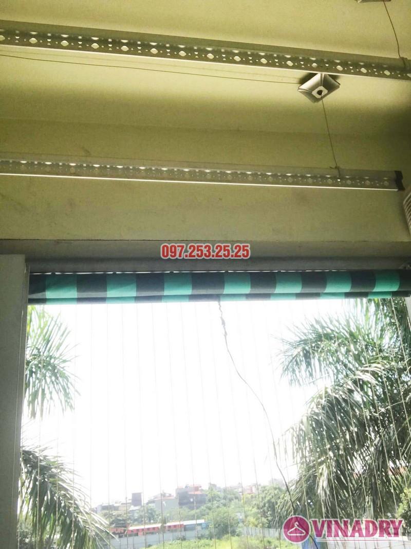 Lắp giàn phơi Hòa Phát 999B nhà anh Minh, Tòa nhà HH2 Gia Thụy, Long Biên - 05