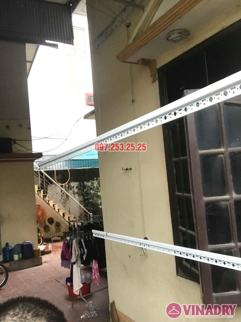Lắp giàn phơi Hòa Phát KS990 nhà anh Đăng, La Phù, Hoài Đức, Hà Nội - 02