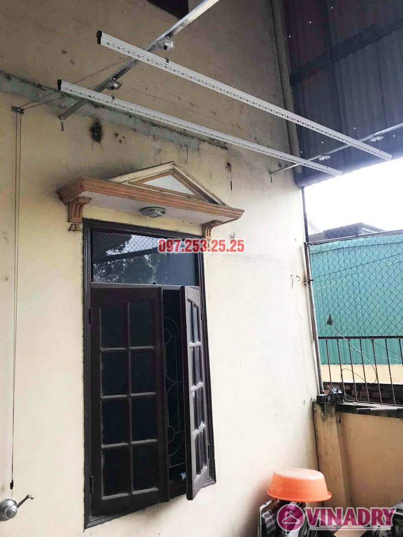 Lắp giàn phơi Hòa Phát KS990 nhà anh Đăng, La Phù, Hoài Đức, Hà Nội - 04