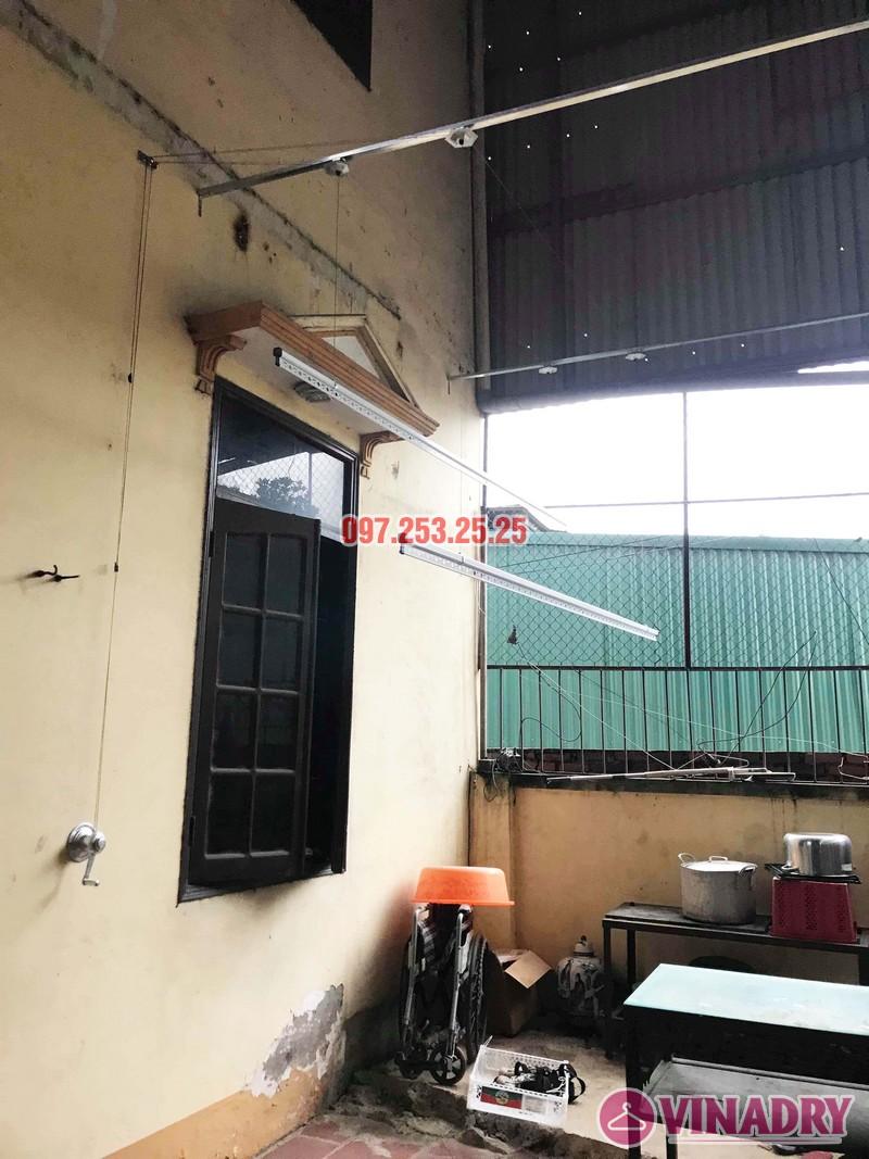 Lắp giàn phơi Hòa Phát KS990 nhà anh Đăng, La Phù, Hoài Đức, Hà Nội - 06