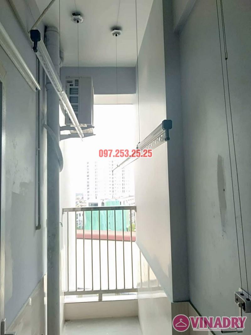 Lắp giàn phơi Hòa phát giá rẻ HP368 nhà chị My, chung cư 536A Minh Khai - 02