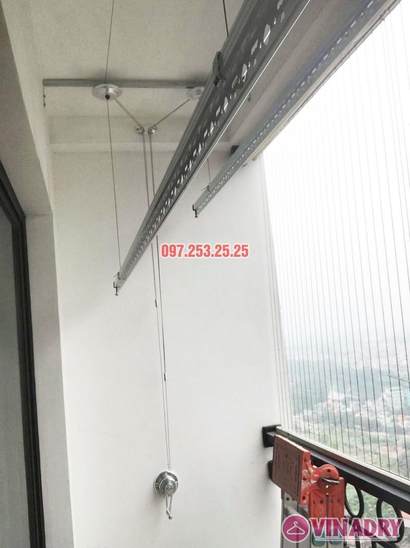 Lắp giàn phơi Hòa Phát Star tại Times City nhà chị Hà, Tòa T9 - 04