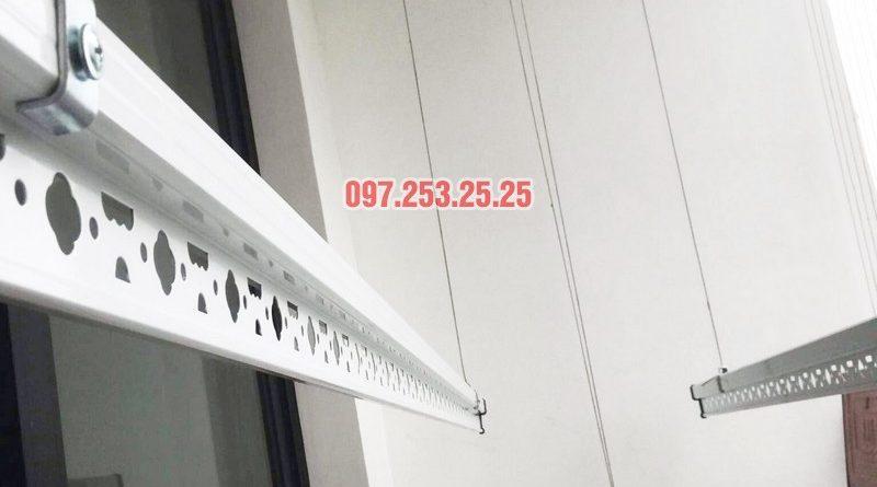 Lắp giàn phơi Hòa Phát Star tại Times City nhà chị Hà, Tòa T9 - 06