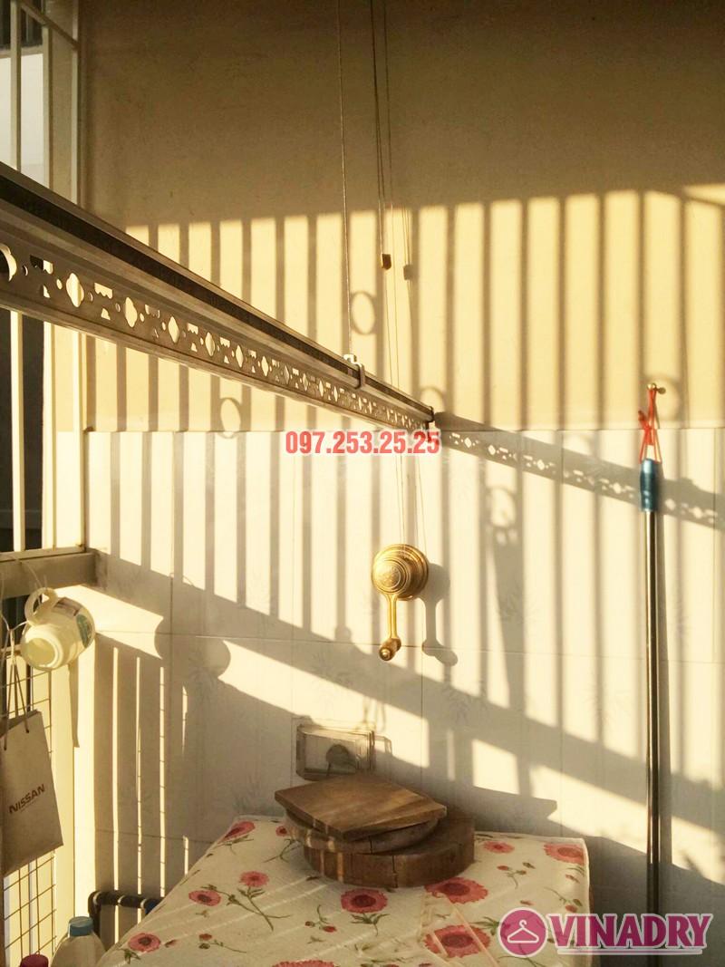 Lắp giàn phơi Hòa Phát KG900 nhà chị Đào, Đặng Xá, Gia Lâm, Hà Nội - 03