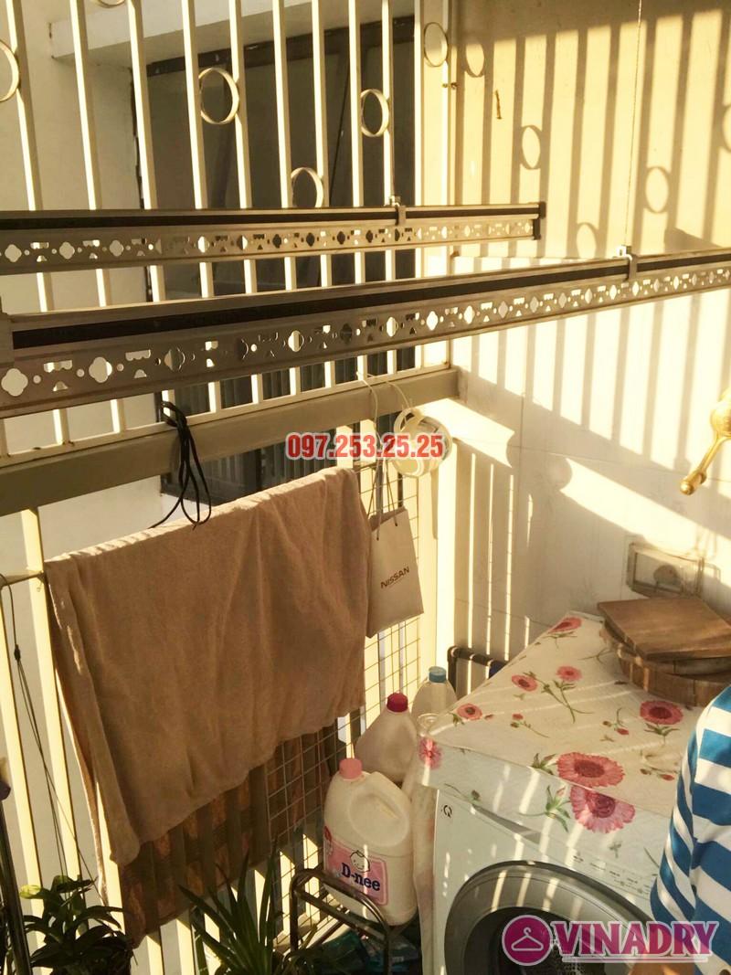 Lắp giàn phơi Hòa Phát KG900 nhà chị Đào, Đặng Xá, Gia Lâm, Hà Nội - 06