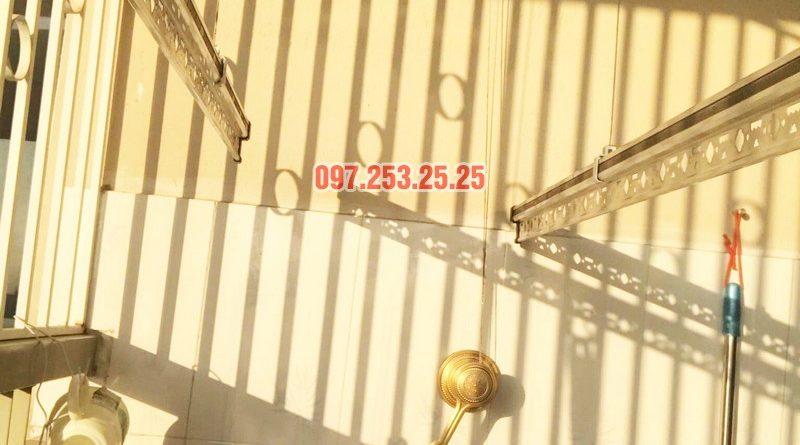 Lắp giàn phơi Hòa Phát KG900 nhà chị Đào, Đặng Xá, Gia Lâm, Hà Nội - 08