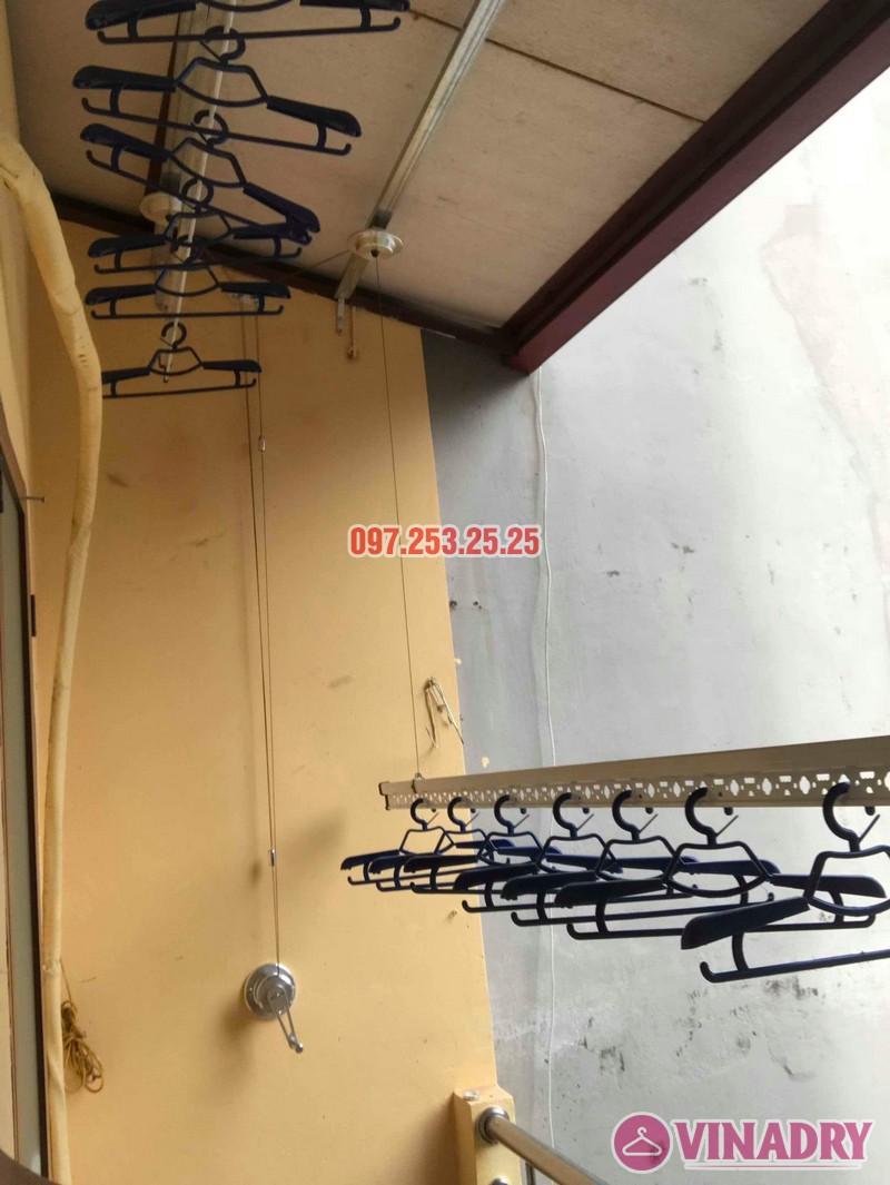 Lắp giàn phơi Hòa Phát chính hãng nhà chị Hà, số 19, ngõ Hòa Bình 6, Minh Khai, Hà Nội - 04
