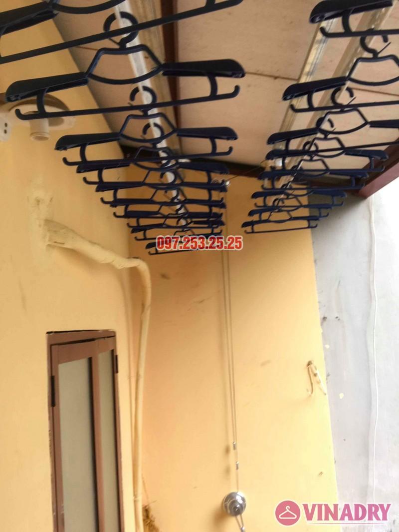 Lắp giàn phơi Hòa Phát chính hãng nhà chị Hà, số 19, ngõ Hòa Bình 6, Minh Khai, Hà Nội - 06