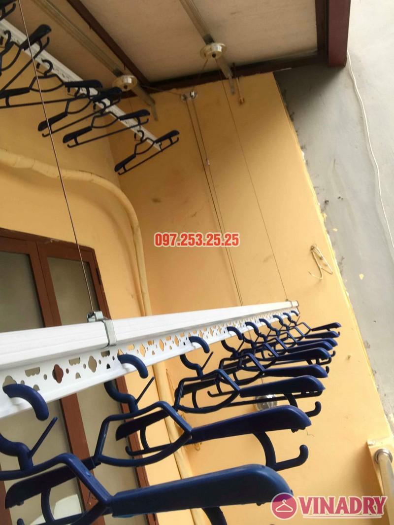 Lắp giàn phơi Hòa Phát chính hãng nhà chị Hà, số 19, ngõ Hòa Bình 6, Minh Khai, Hà Nội - 07